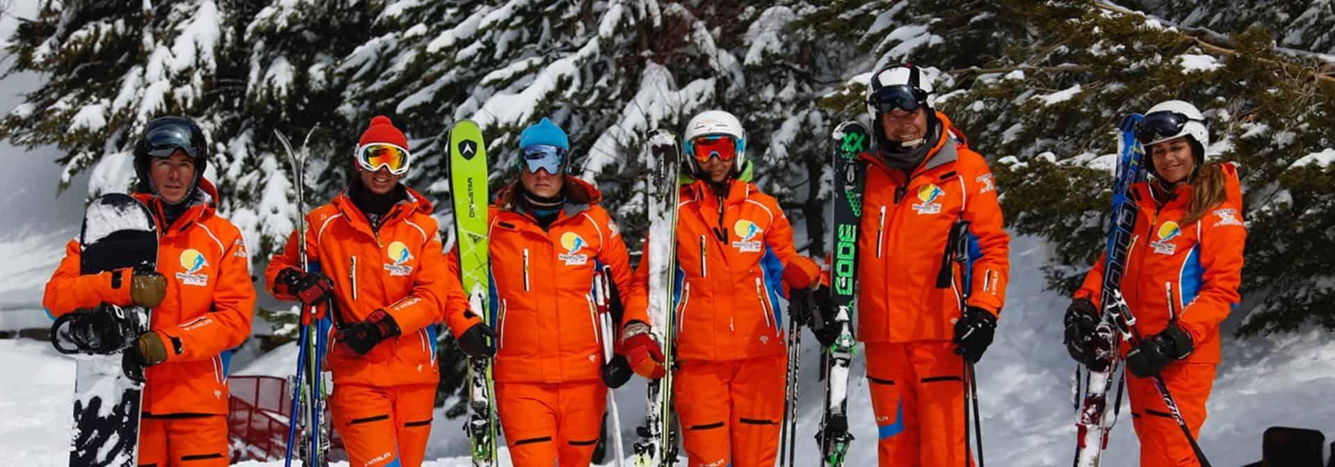 profesores happy ski