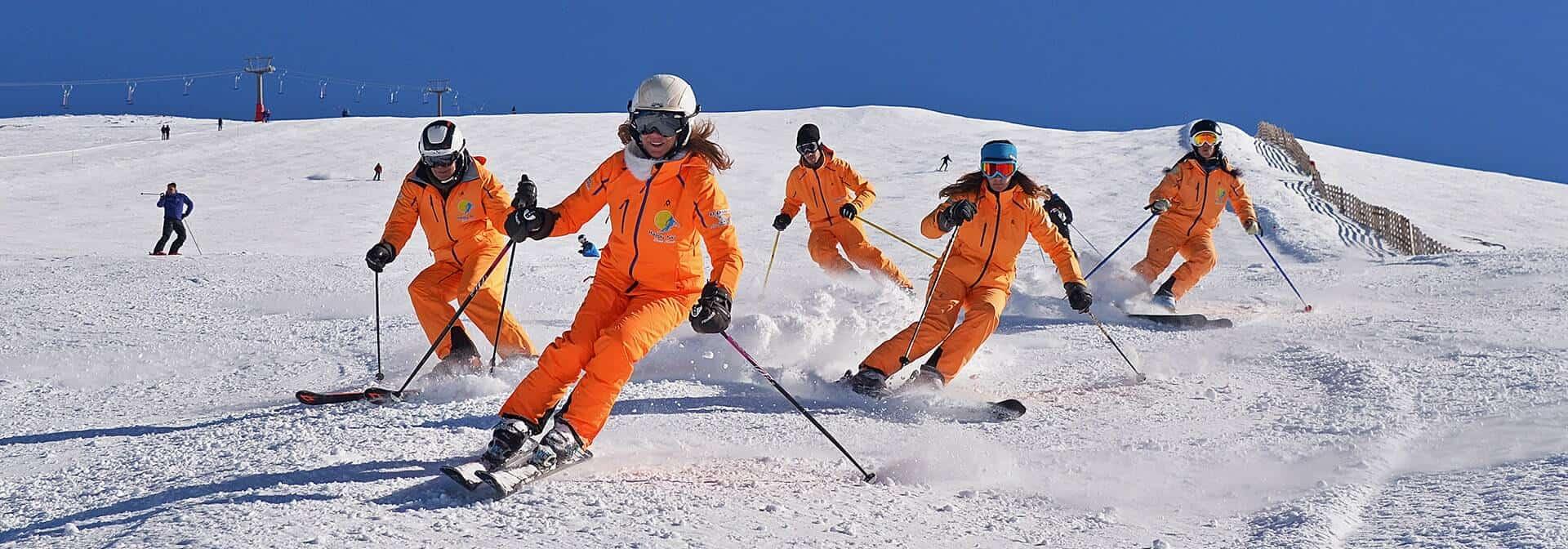 Clases de ski en Sierra Nevada Happy Ski