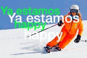 clases de ski . Sierra Nevada , Clases de ski